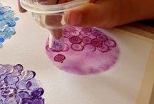 dipingere con i bambini