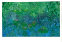 Waterlilies / Reception is Inspired by Monet