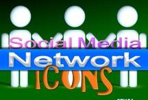 Social Media Free Icons / by Dainaz S Illava