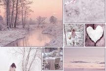 Noël blanc poudré
