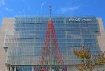Árbol de Navidad Coca Cola 2015 / Árbol de Navidad Coca Cola. 2600 botellas PET.  Renca, RM. 2015
