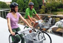 Top Biking Adventures / Great places to cycle, from South Carolina to Belgium, including city tours and places you can rent a bike to ride.