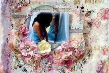 Scrapbook Wedding pages