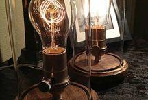 Loft lamps / Loft interiors Edison lamps