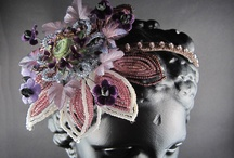 vintage handcrafted headbands and tiaras