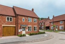 Queens Court, Ravenstone / Tucked away along a private driveway off Church Lane, Queens Court offers a selection of 27 three, four and five bedroom properties. Our Sales Office and Showhome is open 7 days a week between 11am - 5pm. www.cameronhomes.co.uk/developments/queens-court