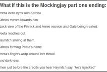 """Mockingjay / """"He's been hijacked!"""" -Haymitch / by Jessica Illman"""