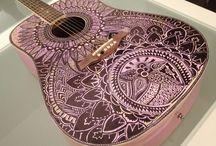 Guitar art designs