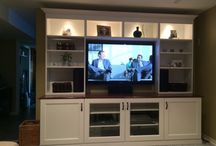 TV wall unit/ built ins