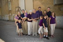 Large Group Family Photos / by Elizabeth Buergler
