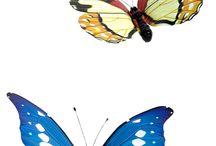 Künstliche Schmetterlinge / Deko-Schmetterlinge