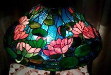 My tiffany lamps / Handmade Tiffany lamps
