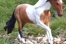 """Marble Copperfox Model Horse / Images of """"Marble"""", our buckskin tobiano who is part of our 2016 Copperfox range of model horses."""