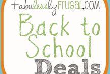 Back 2 School Deals