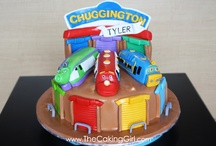 Chuggington cakes
