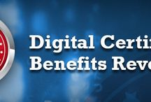 Digital Certificates / These certificates are for authentication of the legitimacy or originality of the interactions, possible communications between the sender and the receiver.