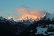 Snow & Winter / my favourite landsapes, home and Dolomites, my memories