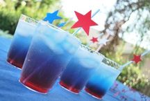 festive drinks and treats