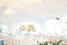 Chic All White Wedding