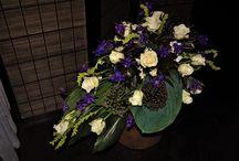 funeral flowers,Hanna Kontturi / floral art
