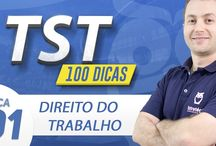 Dicas para Concurso TST / 100 Dicas de Estudo para Concurso TST. Veja Cursos para Concurso TST: https://www.estrategiaconcursos.com.br/cursosPorConcurso/tst/