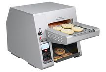 Product Category: Toasters / Hatco Toasters are fast, dependable and provide versatile toasting for uniformly-colored golden-brown toast, as well as a variety of other bread products. Get smart about your toasting needs with the Intelligent Toast-Qwik® Conveyor Toaster; the Toast-Qwik®, Toast King® and Toast-Rite® Conveyor Toasters are perfect for mid- to high-volume toasting applications; and the Pop-Up Toaster is a great choice for self-serve areas. Toast-Max® Conveyor Toasters are also available in certain regions. / by Hatco Corporation