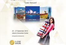GATF | VISIT OUR BOOTH @JCC – Plenary Hall booth no. P27 / And get our Super Saver deal!!                                 Harga mulai dari Singapore            Rp     732.000,- * Bangkok               Rp 2.045.000,- * Hong Kong          Rp 2.267.000,- * Haneda                Rp 3.503.000,- * Sydney                 Rp 4.148.000,- * Melbourne         Rp 4.046.000,- * Amsterdam        Rp 6.565.000,- * London                 Rp 6.481.000,- * *Harga dapat berubah sewaktu-waktu tergantung dari kurs yang berlaku saat issued tiket