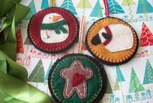 Christmas / by (Country Lane Folk Art) Becky Levesque