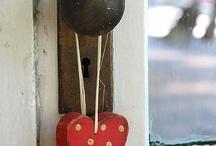 Door handle, door knob