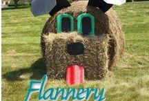 Flannery Animal Hospital Hay Bales
