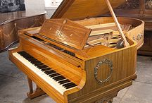 Empire Style Pianos / Pianos with Empire Style Cabinets