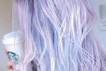 Pasletel purple hair