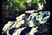 Waterfalls in North Georgia mountains