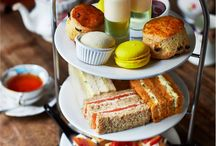Afternoon Tea in London / Where to find scrumptious afternoon tea in London.