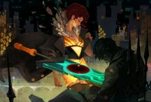 The art of Transistor: Jen Zee / Jen Zee's concept art on the videogame Transistor