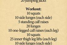 Dancer legs workout