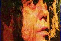 Lou Reed Pop Art Canvas