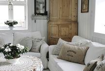 Obývací pokoj - Living room / Shabby chic, rustic, farmhouse