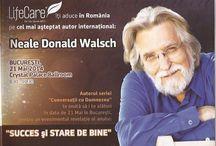 Neale Donald Walsch in Romania – SUCCES SI STARE DE BINE