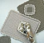 Crochet Coasters, Placemats & Cushions