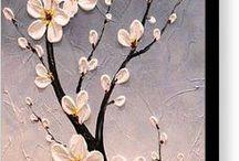 Cherry Blossom painting ideas
