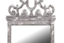 French Style Mirrors / Create an illusion of depth, space and light with the addition of our gorgeous classic French mirrors. Whether you are looking for a decorative bevelled design, ornate over mantle piece, or a stylish statement mirror, we have them all.