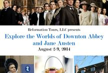 Downton Abbey / Join me on our Downton Abbey and Jane Austen tour August 2-9, 2014.