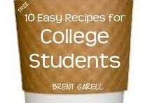 Glutenfri student / Glutenfrie matoppskrifter og andre ting jeg har lyst til å prøve