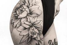 Next tattoo hip cactus flowers