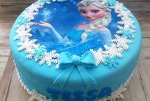 bolo Elsa Frozen