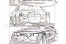 Automotive Sketch Technique