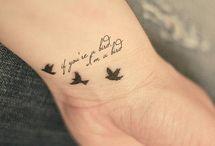 Bird tattoo / by Connie Pennington