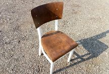 Antique Chair Renovation / Реставрация стула сделанного в Чехословакии в 1961 году.