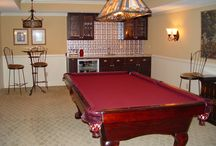 Man Caves & Refinished Basements